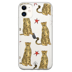 Casimoda iPhone 11 transparant hoesje - Stay wild