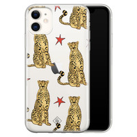 Casimoda iPhone 11 transparant hoesje - Stay wild