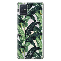 Casimoda Samsung Galaxy A51 transparant hoesje - Jungle