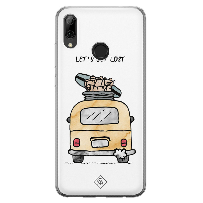 Casimoda Huawei P Smart 2019 siliconen hoesje - Let's get lost
