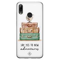 Casimoda Huawei P Smart 2019 siliconen hoesje - Wanderlust