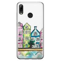 Casimoda Huawei P Smart 2019 siliconen telefoonhoesje - Amsterdam