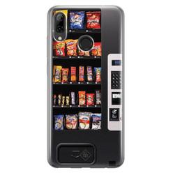 Casimoda Huawei P Smart 2019 siliconen hoesje - Snoepautomaat
