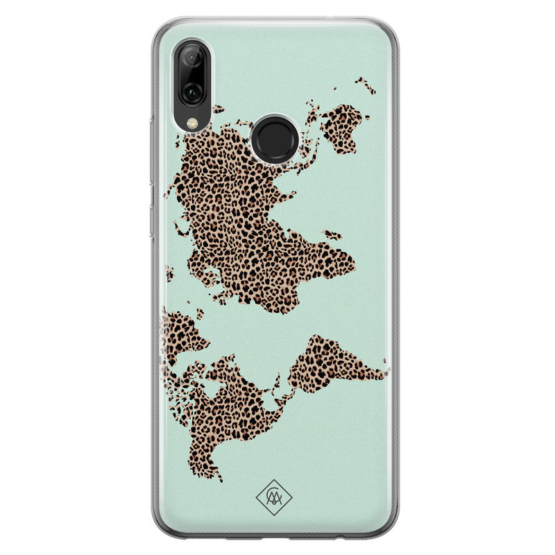 Casimoda Huawei P Smart 2019 siliconen hoesje - Wild world