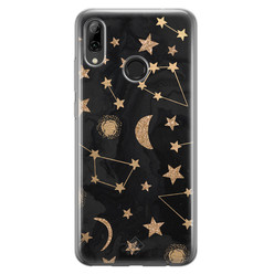 Casimoda Huawei P Smart 2019 siliconen hoesje - Counting the stars