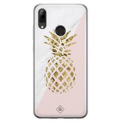 Casimoda Huawei P Smart 2019 siliconen hoesje - Ananas