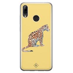 Casimoda Huawei P Smart 2019 siliconen hoesje - Leo wild