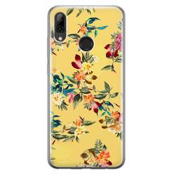 Casimoda Huawei P Smart 2019 siliconen hoesje - Floral days