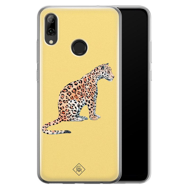 Huawei P Smart 2019 siliconen hoesje - Leo wild