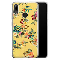 Huawei P Smart 2019 siliconen hoesje - Floral days