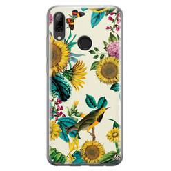 Huawei P Smart 2019 siliconen hoesje - Sunflowers