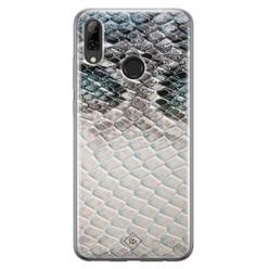 Casimoda Huawei P Smart 2019 siliconen hoesje - Oh my snake