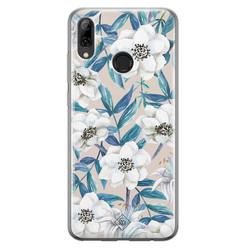 Casimoda Huawei P Smart 2019 siliconen hoesje - Touch of flowers