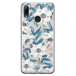 Huawei P Smart 2019 siliconen hoesje - Touch of flowers