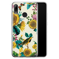 Huawei P Smart 2019 siliconen hoesje - Sunflowers