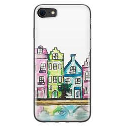 Casimoda iPhone SE 2020 siliconen hoesje - Amsterdam