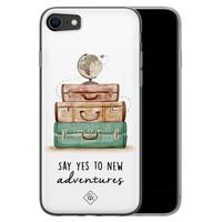 Casimoda iPhone SE 2020 siliconen hoesje - Wanderlust