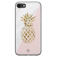 Casimoda iPhone SE 2020 siliconen hoesje - Ananas