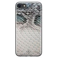 Casimoda iPhone SE 2020 siliconen hoesje - Oh my snake