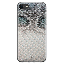 Casimoda iPhone SE 2020 siliconen hoesje - Oh my snake