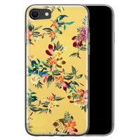 Casimoda iPhone SE 2020 siliconen hoesje - Floral days