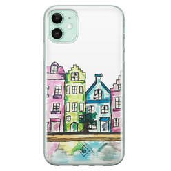 Casimoda iPhone 11 siliconen hoesje - Amsterdam