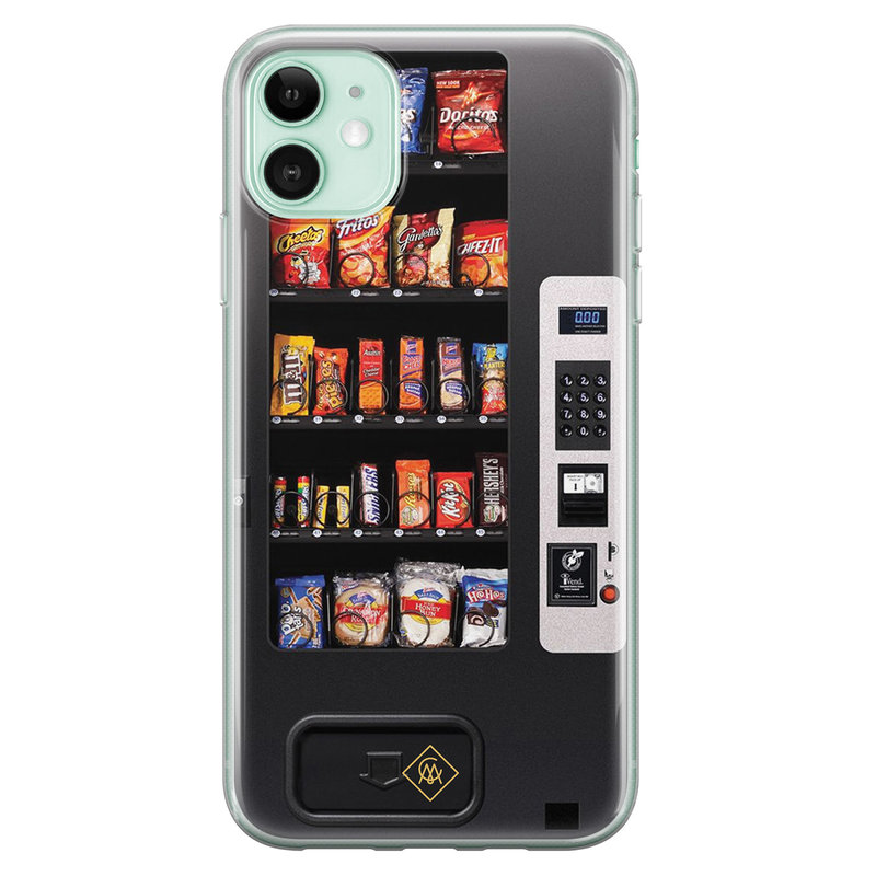 Casimoda iPhone 11 siliconen hoesje - Snoepautomaat