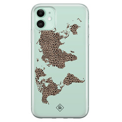 Casimoda iPhone 11 siliconen hoesje - Wild world