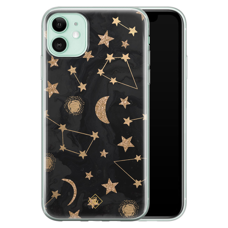 Casimoda iPhone 11 siliconen hoesje - Counting the stars