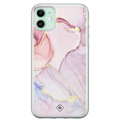 Casimoda iPhone 11 siliconen hoesje - Purple sky
