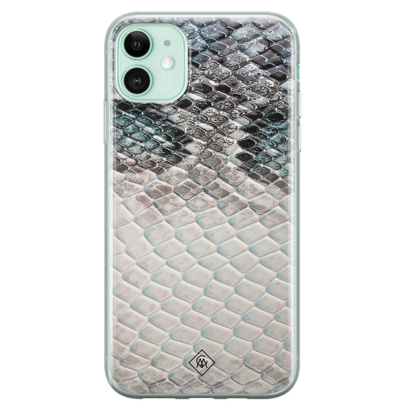 Casimoda iPhone 11 siliconen hoesje - Oh my snake