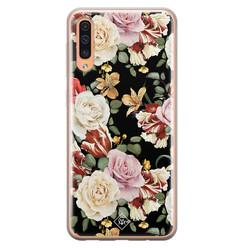 Casimoda Samsung Galaxy A50/A30s siliconen hoesje - Flowerpower