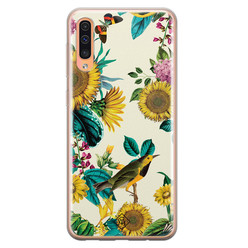 Casimoda Samsung Galaxy A50/A30s siliconen hoesje - Sunflowers