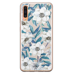 Casimoda Samsung Galaxy A50/A30s siliconen hoesje - Touch of flowers
