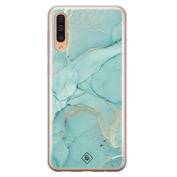 Casimoda Samsung Galaxy A50/A30s siliconen hoesje - Touch of mint
