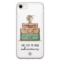 Casimoda iPhone 8/7 siliconen hoesje - Wanderlust