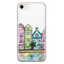 Casimoda iPhone 8/7 siliconen hoesje - Amsterdam