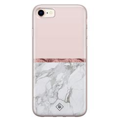 Casimoda iPhone 8/7 siliconen hoesje - Rose all day