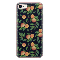 Casimoda iPhone 8/7 siliconen hoesje - Orange lemonade