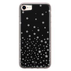 Casimoda iPhone 8/7 siliconen hoesje - Falling stars