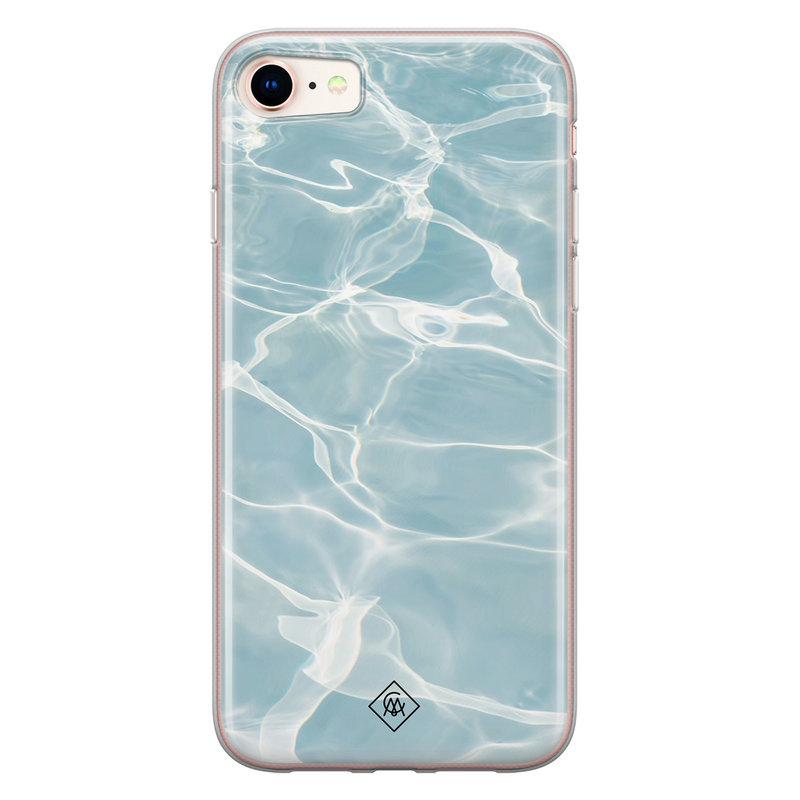 Casimoda iPhone 8/7 siliconen hoesje - Oceaan