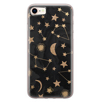 Casimoda iPhone 8/7 siliconen hoesje - Counting the stars
