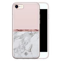 Casimoda iPhone 8/7 siliconen telefoonhoesje - Rose all day