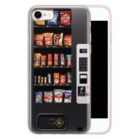 Casimoda iPhone 8/7 siliconen hoesje - Snoepautomaat