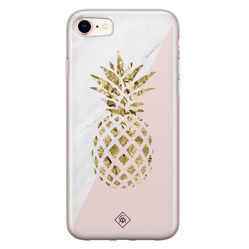 Casimoda iPhone 8/7 siliconen hoesje - Ananas