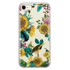 Casimoda iPhone 8/7 siliconen hoesje - Sunflowers