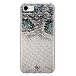 Casimoda iPhone 8/7 siliconen hoesje - Oh my snake