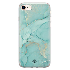 Casimoda iPhone 8/7 siliconen hoesje - Touch of mint