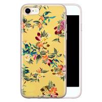 Casimoda iPhone 8/7 siliconen hoesje - Floral days