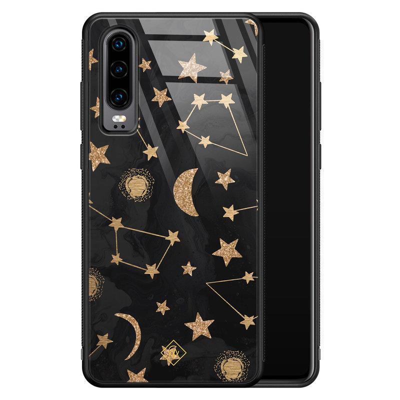 Casimoda Huawei P30 glazen hardcase - Counting the stars